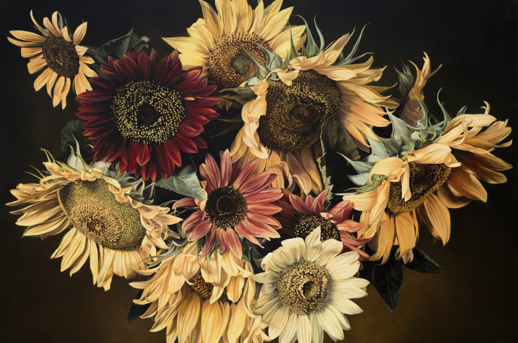 Sunflowers 130 x 195 cm (SOLD)