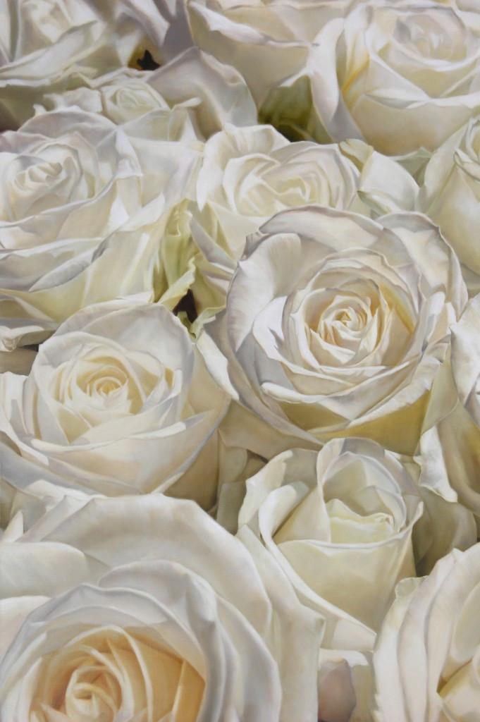 White Roses 51 x 34 cm (SOLD)