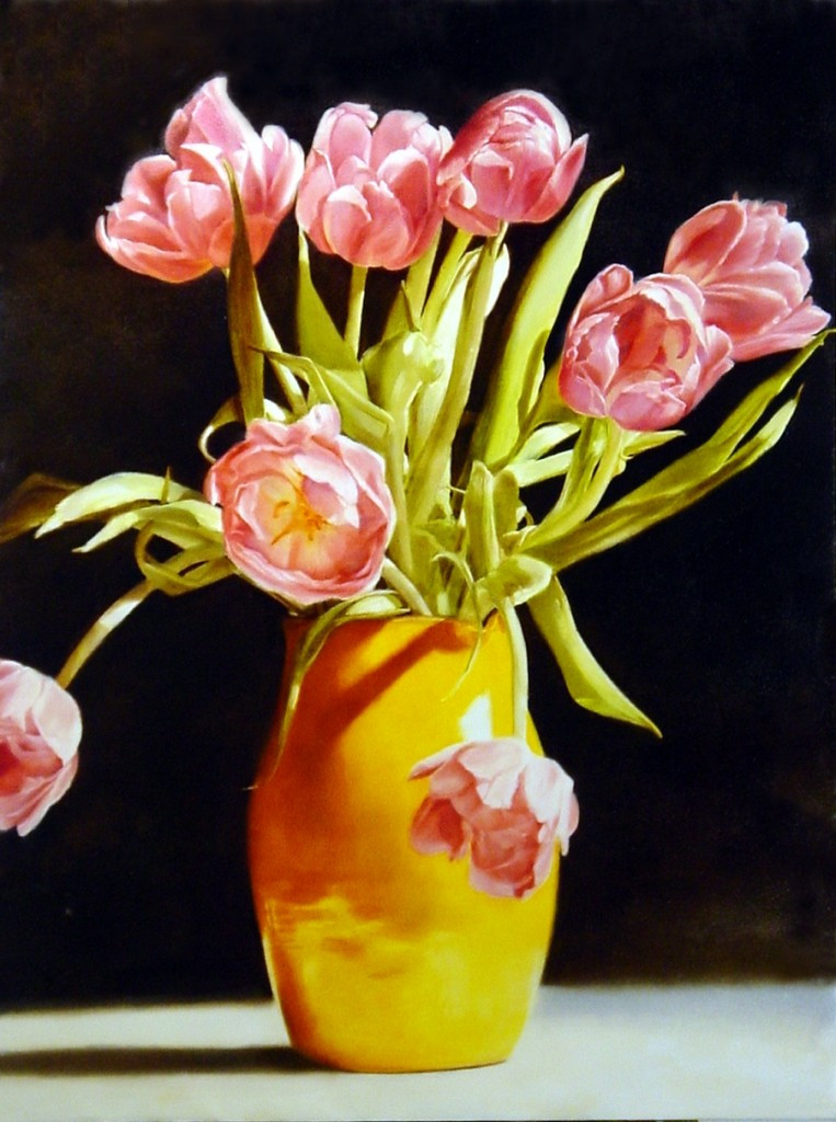 Tulips 91 x 122 cm (SOLD)
