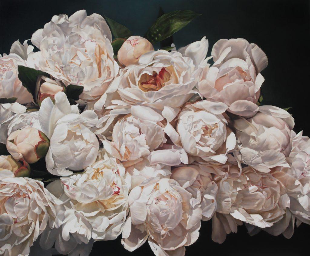 Peonies Éclater 200 x 167 cm